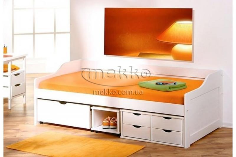 """Ліжко """"FLORO"""" (2090х960х720мм) Halmar (Халмар)-3"""