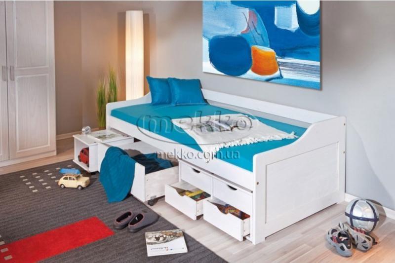 """Ліжко """"FLORO"""" (2090х960х720мм) Halmar (Халмар)"""
