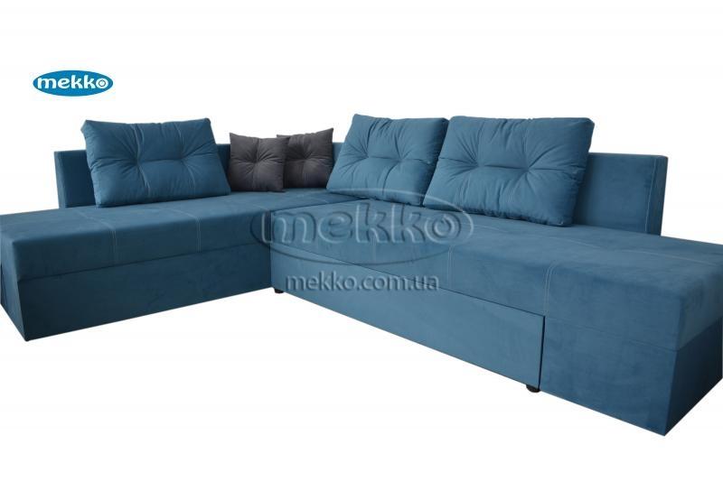 Кутовий диван з поворотним механізмом (Mercury) Меркурій ф-ка Мекко (Ортопедичний) - 3000*2150мм-11