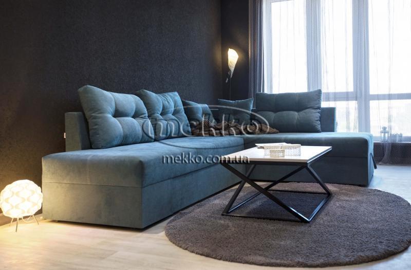 Кутовий диван з поворотним механізмом (Mercury) Меркурій ф-ка Мекко (Ортопедичний) - 3000*2150мм