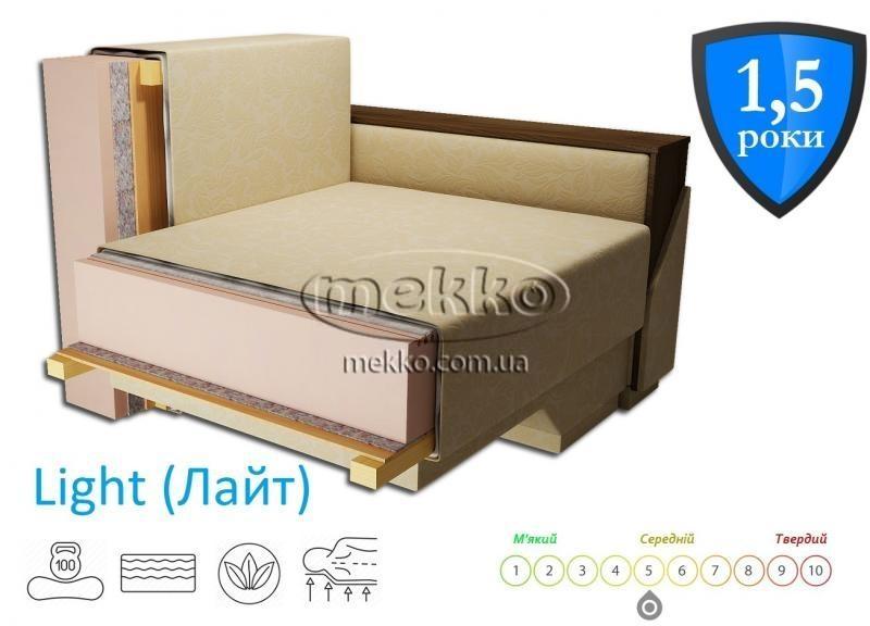 Кутовий диван з поворотним механізмом (Mercury) Меркурій ф-ка Мекко (Ортопедичний) - 3000*2150мм-2