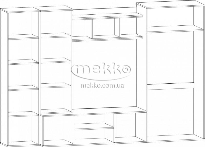 """Стінка """"Конго"""" Мебель-Сервіс-4"""